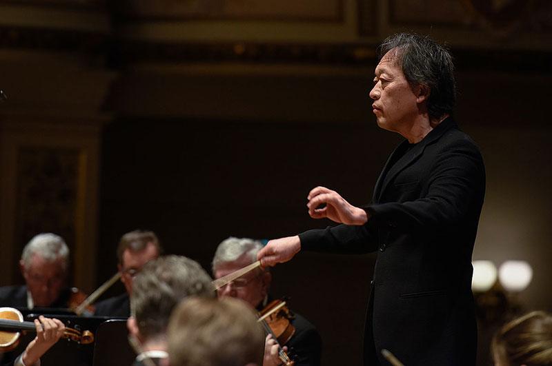 Ein weiterer Höhepunkt war erneut der Besuch des Ersten Gastdirigenten Myung-Whun Chung.